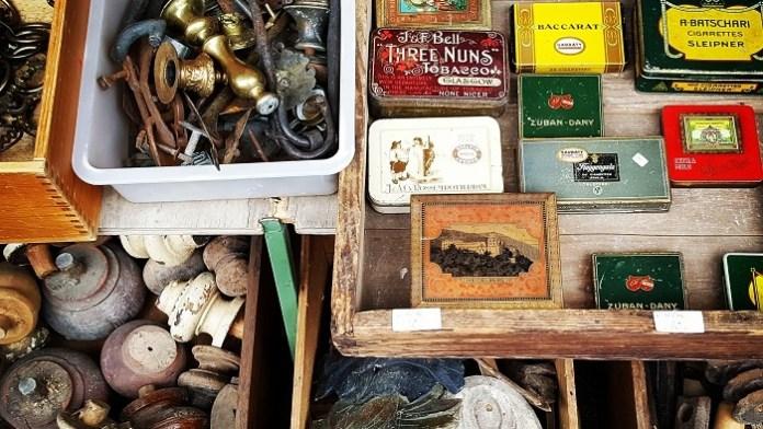 Funde auf dem Münchner Flohmarkt