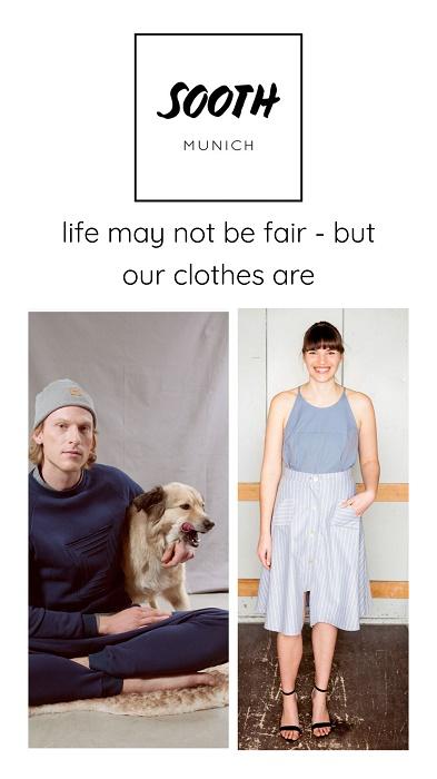 Fair Fashion Label aus München: Sooth Munich