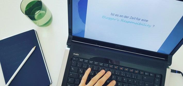 Verantwortungsbewusst bloggen und Karma-Blogging: So verändern wir Blogger die Welt
