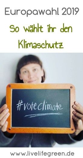 Europawahl 2019: #voteclimate so wählt ihr den Klimaschutz