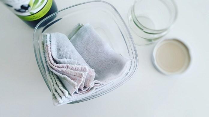 Zero Waste und Nachhaltigkeit mit Baby und Kleinkind: DIY-Feuchttücher