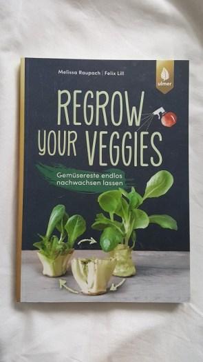 Nachhaltige Bücher für Weihnachten: Regrow your Veggies