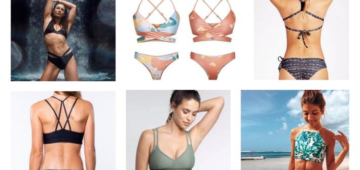 Nachhaltige Bikinis und Badeanzuege - sportliche und faire Bademode