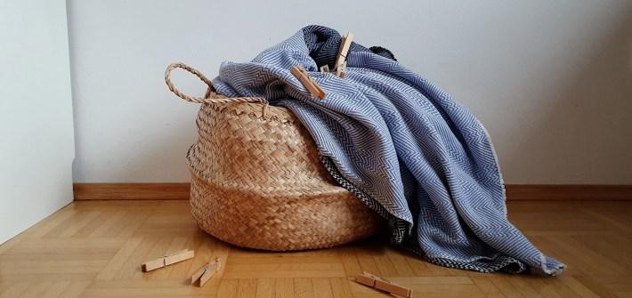 Nachhaltig und klimaschonend Wäsche trocknen mit wenig Platz