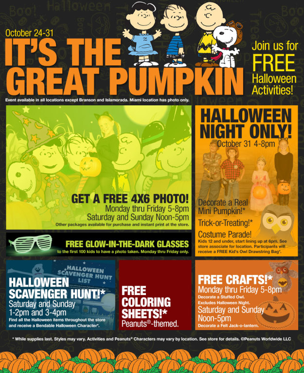 Free Halloween event for kids and halloween lovers free crafts and ...