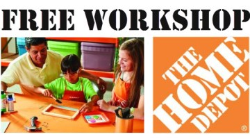 free-workshop-home-depot