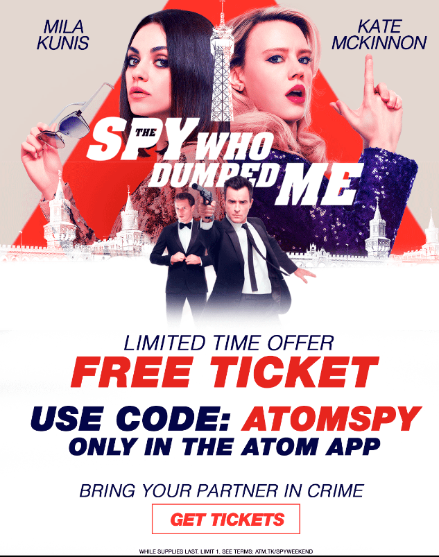 the spy who dumped me free screening