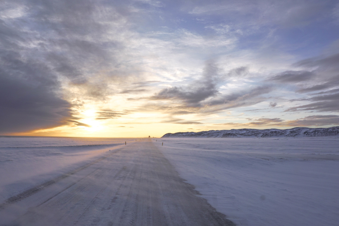 Winter roads in Iceland // The Most Terrifying Driving Experience of my Llife   Life With a View