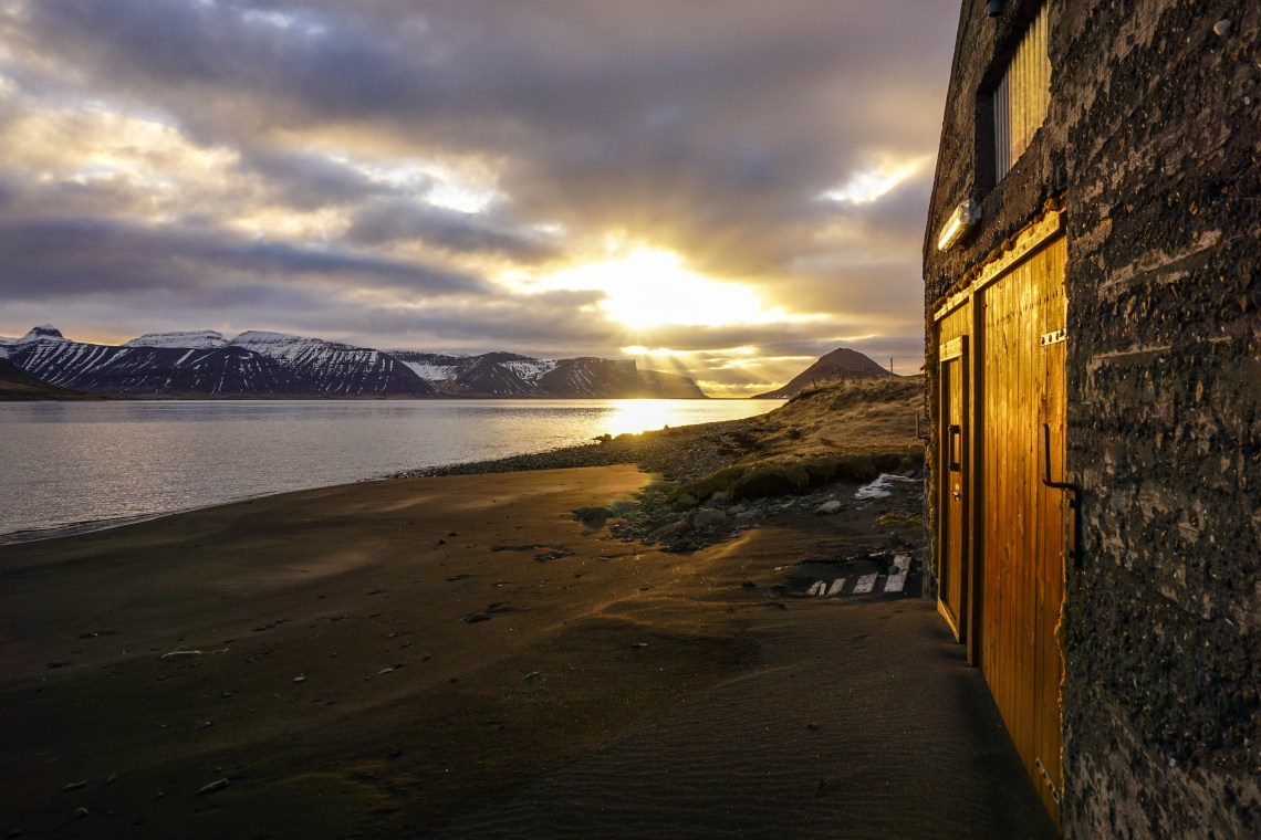 Incredible sunset in the Westfjords, Iceland - click for video!   Life With a View