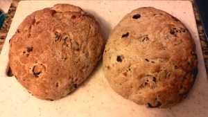 Olive Bread Loaves