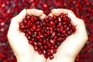 Pomegranate-heart-health-benefits