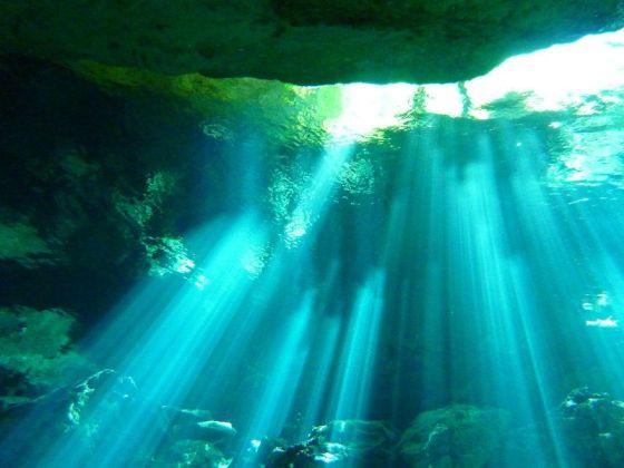 Cenote Scuba Diving Mexico