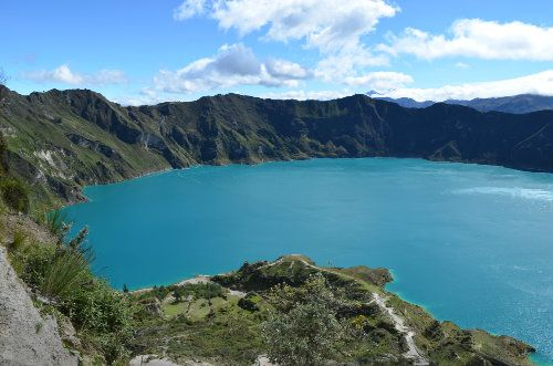 Quilotoa Crater Ecuador
