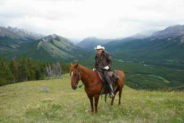 Horseback trip Canadian Rockies