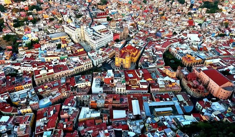 Guanajuato Mexico by Drone