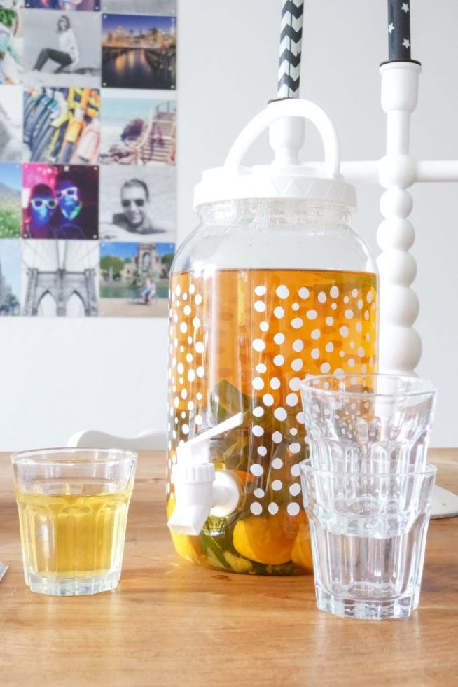 recept homemade ice tea - Live love interior