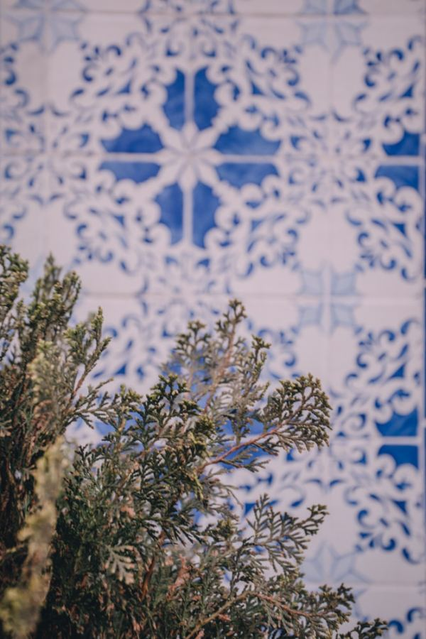 Lisbon tiles. Find the best places in Lisbon for Instagrammable photos and when to go to get them to yourself!