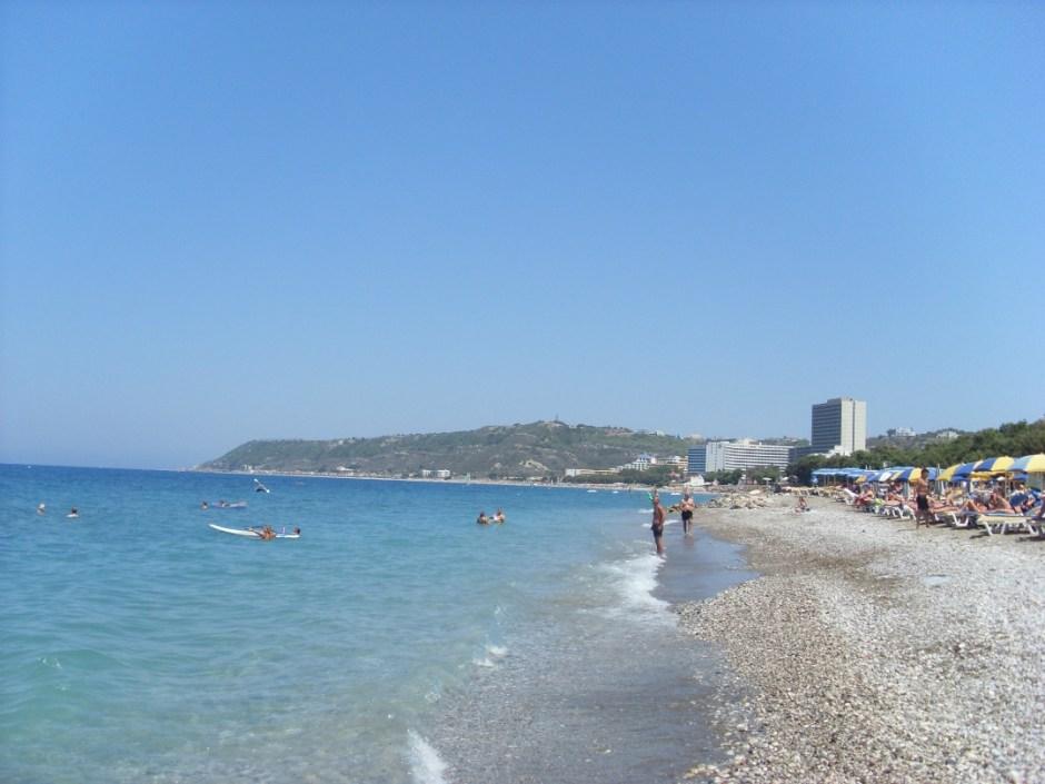 Rhodos strand