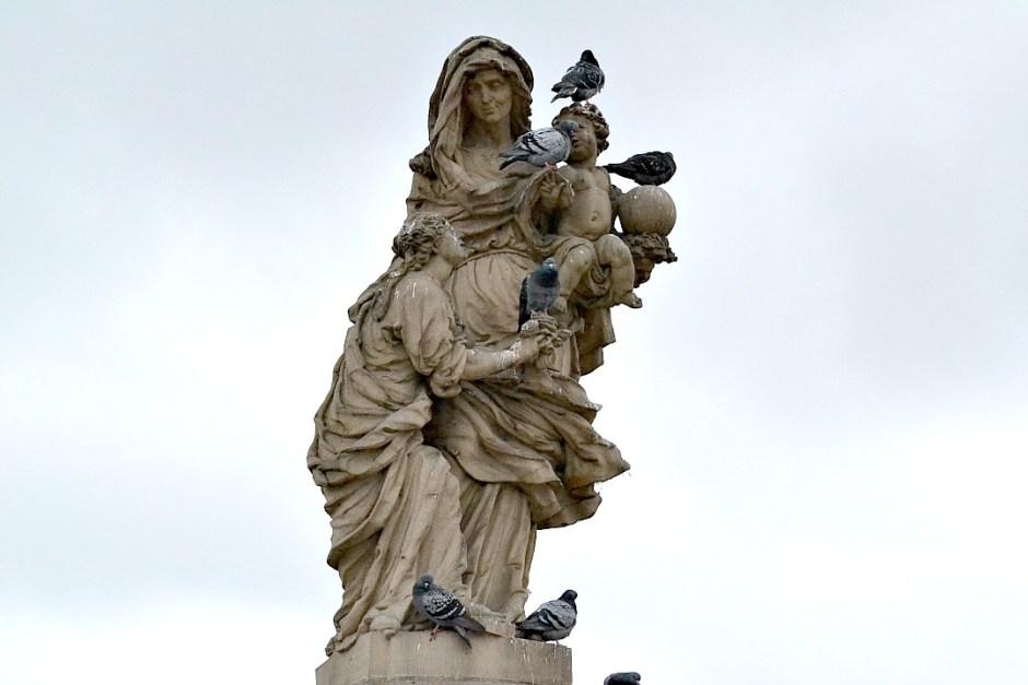 Standbeeld Karelsbrug