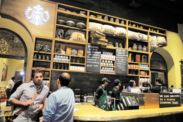 Starbucks opens its first store in India  Livemint