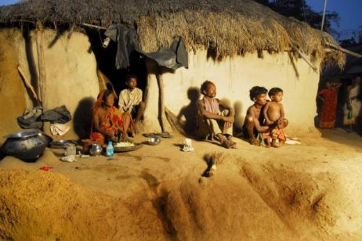 This attitude to adivasis can be crudely summarized thus: they don't know what's good for them, and so they shall have modernity thrust down their gullets through the process of 'integration' with the mainstream. Photo: Indranil Bhoumik/Mint<br /><br />