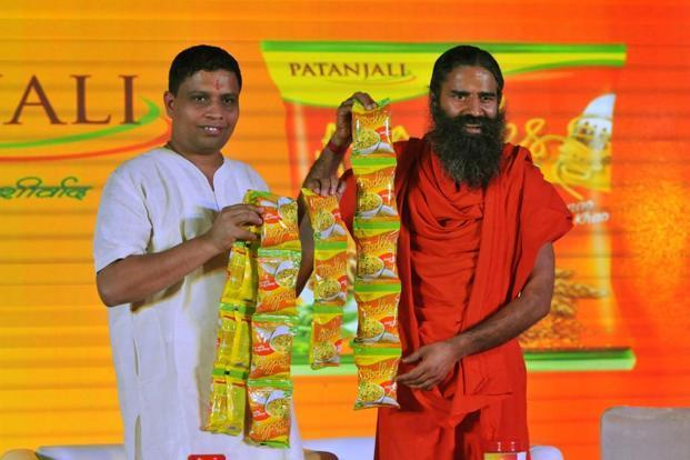 Currently, Patanjali sells 30 products—mustard oil, flour, butter, biscuits, spices, oil, sugar, juices, honey and toothpaste being among them—at prices that are 15-30% lower than that of its competitor. Photo: Hindustan Times