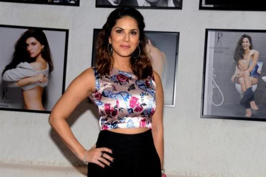 File photo. Actress Sunny Leone at the launch of photographer Dabboo Ratnani's 2016 calendar in Mumbai. Photo: AFP