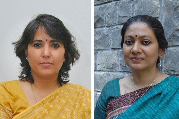 Shalini Narayanan (left); and Sunetra Sen Narayan