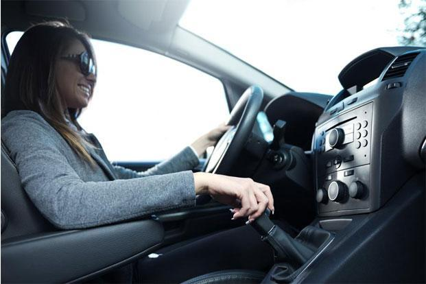 Try sitting upright in your car rather than slumping back into the seat. Photo: iStock