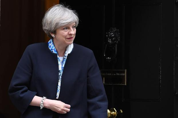 Theresa May took office in July after predecessor David Cameron stepped down. Photo: AFP