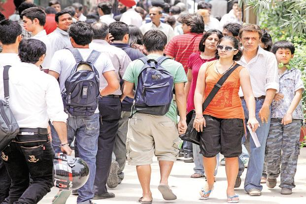 The cut-off will be on the basis of best of four subjects, according to Delhi University (DU) criteria. Photo: Hindustan Times