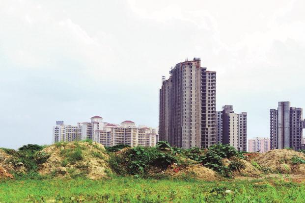 Investment in the Indian real estate sector slowed to $1.1 billion in 2016, after witnessing a high of $3.9 billion in 2015. Photo: Ramesh Pathania/Mint