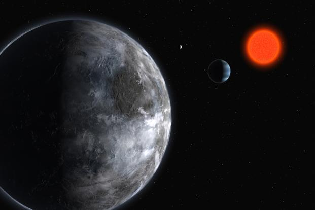 Computer simulations of the solar system with planet nine included show there should be more objects tilted with respect to the solar plane. Photo: Reuters