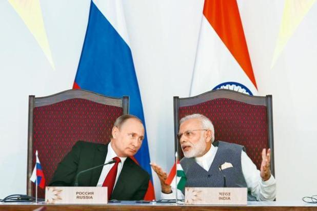 Russia should actively participate in India's Make in India programme in defence manufacturing, with more technology transfers, as that would consolidate Russia's dominant position as India's defence partner, the report said. Photo: Reuters