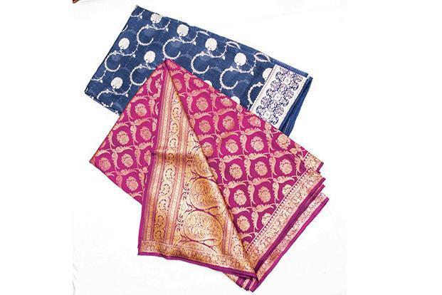 Banarasi saris.