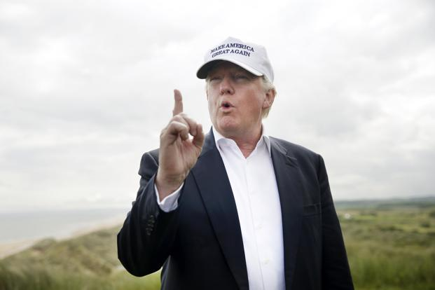 A broadside against trade was central to Donald Trump's presidential campaign. Photo: Bloomberg