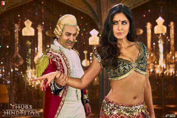 Yash Raj Films' Thugs of Hindostan is touted to be the studio's most expensive project ever with a budget of close to Rs 200 crore. Photo: Twitter/@TOHTheFilm