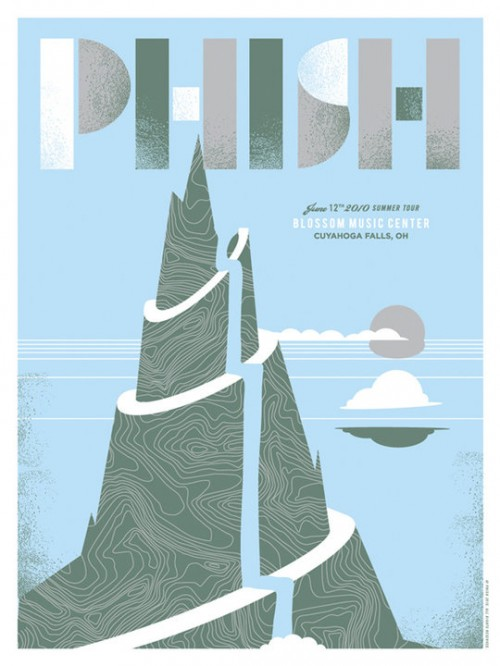 Drymount: Phish Summer Tour 2010 Posters | LIVE music blog