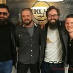 Spenden von Mitgliedern der Folk-Popband Django 3000 für LMN-München gesammelt