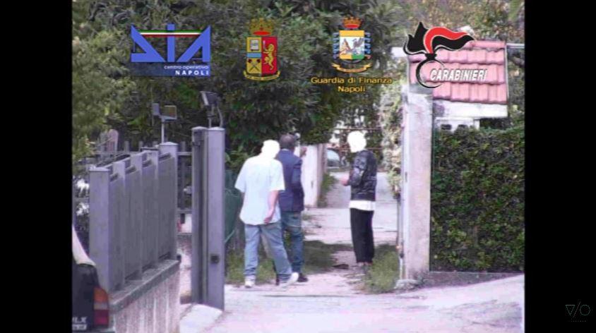 frame video operazione clan mallardo DIA