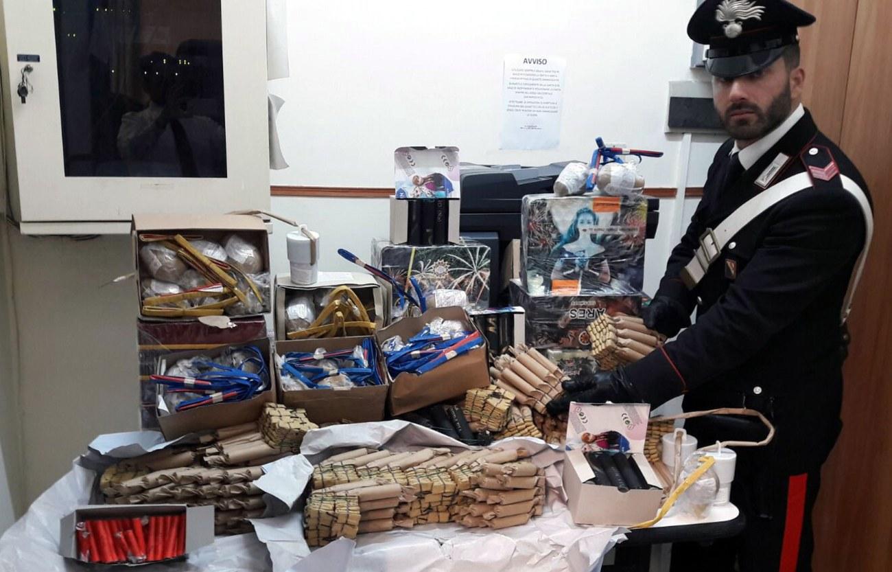 botti illegali sequestro santanastasia