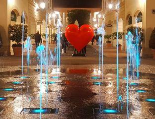 la reggia san valentino cuore