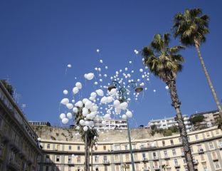 palloncini bianchi cancro