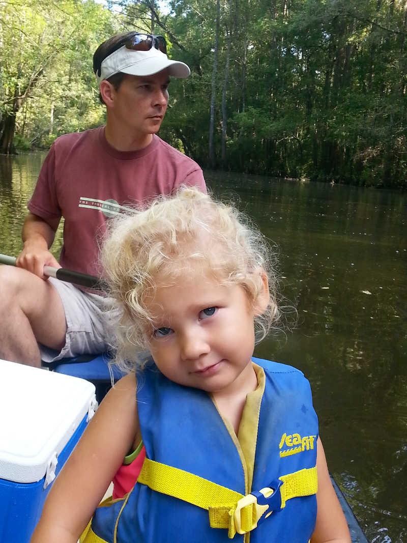 Family Fun Float Trip at Live Oak Landing, Stockton, Alabama