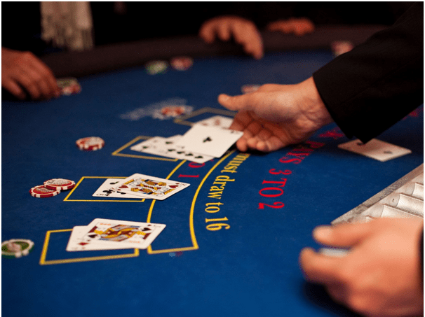 Blackjack Progressive betting