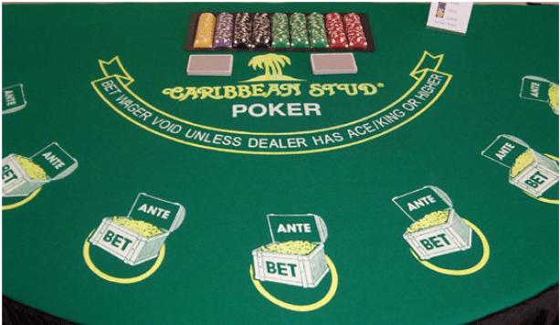 Caribbean stud poker live casino