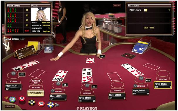 Dealer in Live Casino
