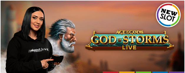 How to play Age of the Gods God of Storms Live Game
