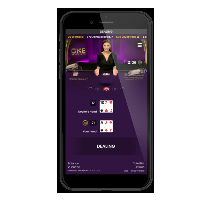 Key features of One Blackjack
