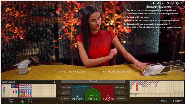 Live Baccarat- Best Strategy to use at Live casios